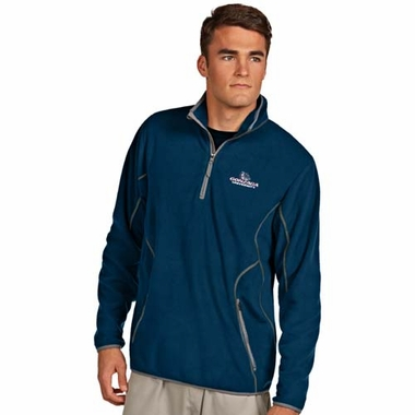 Gonzaga Mens Ice Polar Fleece Pullover (Team Color: Navy)
