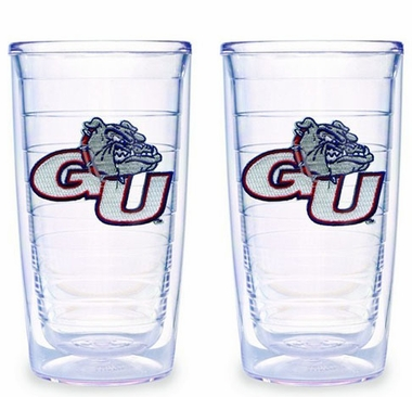 Gonzaga Set of TWO 16 oz. Tervis Tumblers