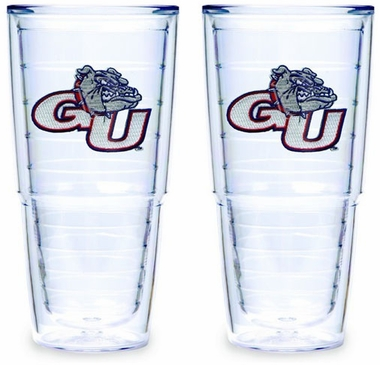 Gonzaga Set of TWO 24 oz. Tervis Tumblers