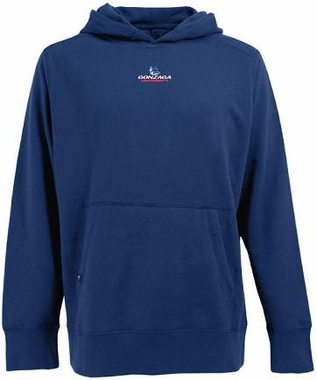 Gonzaga Mens Signature Hooded Sweatshirt (Color: Royal)