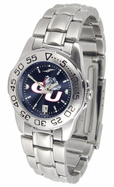 Gonzaga Sport Anonized Women's Steel Band Watch