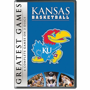 Greatest Games of Kansas Basketball DVD