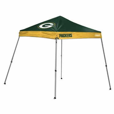 Green Bay Packers 10 x 10 Slant Leg Shelter