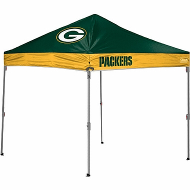 Green Bay Packers 10 x 10 Straight Leg Shelter