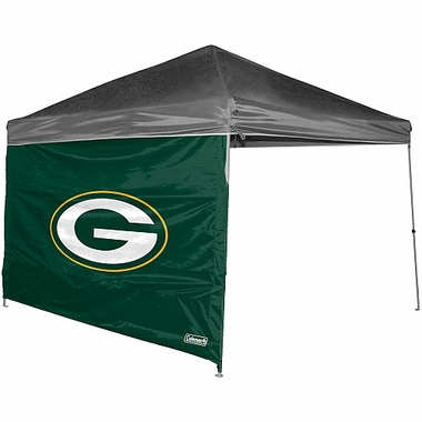 Green Bay Packers 10 x 10 Straight Leg Shelter Panel