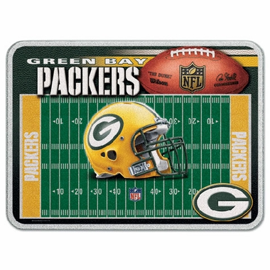 Green Bay Packers 11 x 15 Glass Cutting Board