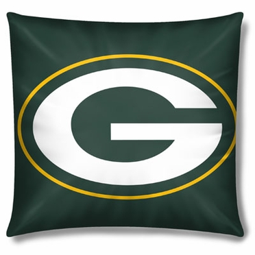 Green Bay Packers 15 Inch Applique Pillow