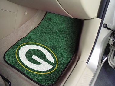 Green Bay Packers 2 Piece Car Mats