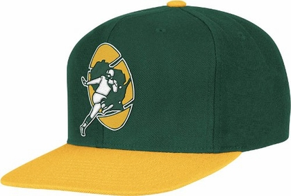 Green Bay Packers 2-Tone Vintage Snap back Hat