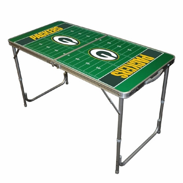 Green Bay Packers 2 x 4 Foot Tailgate Table