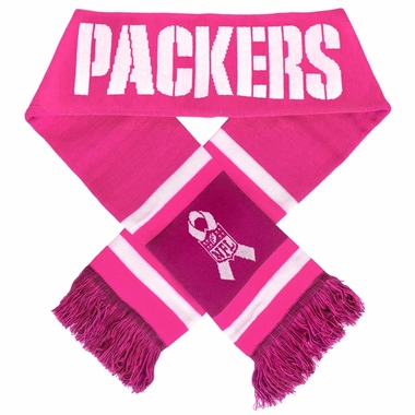 Green Bay Packers 2012 NFL Breast Cancer Foundation Team Stripe Scarf