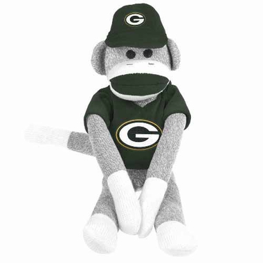 Green Bay Packers 2013 27 Uniform Sock Monkey