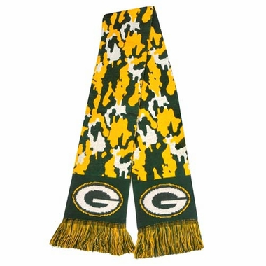 Green Bay Packers 2013 NFL Camouflage Knit Scarf