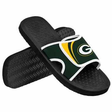 Green Bay Packers 2013 Shower Slide Flip Flop Sandals