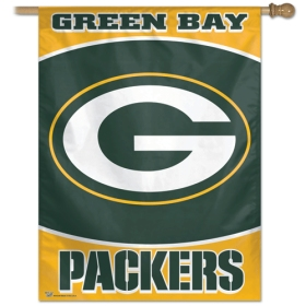 """Green Bay Packers 27"""" x 37"""" Banner"""