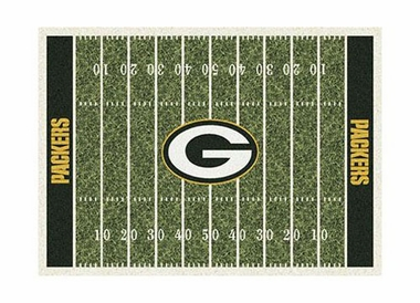 "Green Bay Packers 3'10"" x 5'4"" Premium Field Rug"