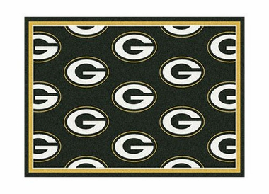 "Green Bay Packers 3'10"" x 5'4"" Premium Pattern Rug"