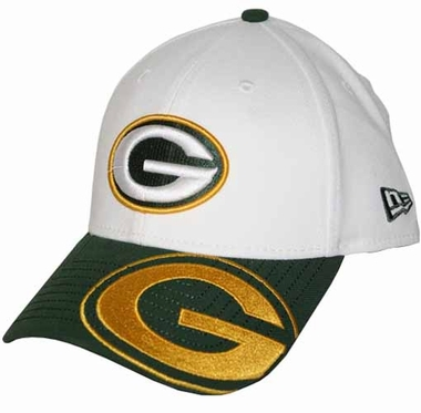 Green Bay Packers 39THIRTY Punch Out Classic Fitted Hat