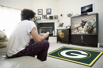 Green Bay Packers 4 Foot x 6 Foot Rug