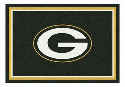 "Green Bay Packers 5'4"" x 7'8"" Premium Spirit Rug"