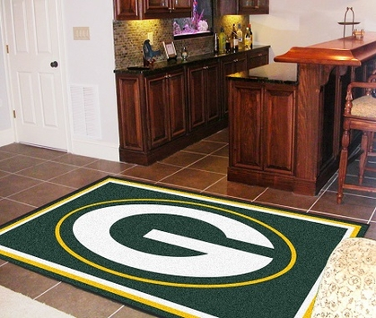 Green Bay Packers 5 Foot x 8 Foot Rug