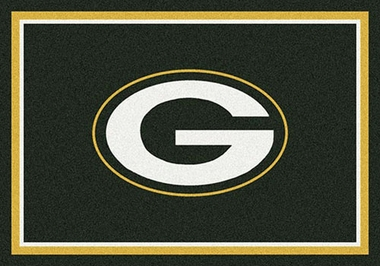 "Green Bay Packers 7'8"" x 10'9"" Premium Spirit Rug"