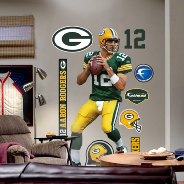 Green Bay Packers Aaron Rodgers Fathead Wall Graphic