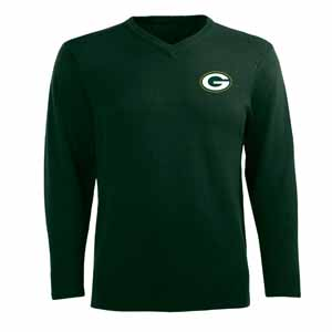 Green Bay Packers Mens Ambassador Sweater (Team Color: Green) - Large