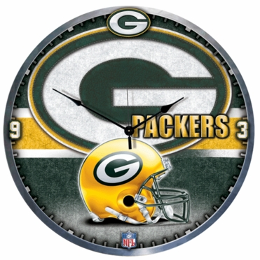 Green Bay Packers Big 18 Inch Hi Definition Clock