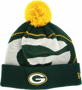 Green Bay Packers Biggie Cuffed Knit Hat