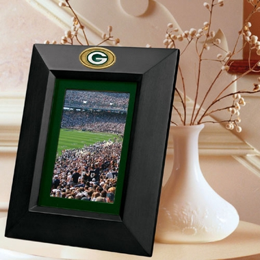 Green Bay Packers BLACK Portrait Picture Frame
