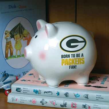 Green Bay Packers (Born to Be) Piggy Bank