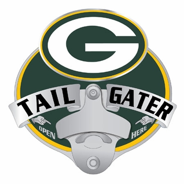 Green Bay Packers Bottle Opener Hitch Cover