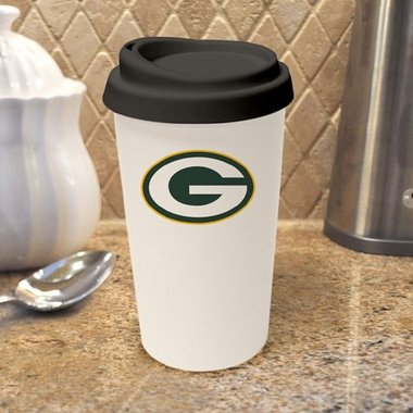 Green Bay Packers Ceramic Travel Cup