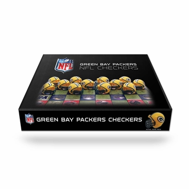 Green Bay Packers Checkers Set