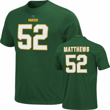Green Bay Packers Clay Matthews Eligible Receiver Player T-Shirt