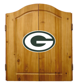 Green Bay Packers Complete Dart Cabinet
