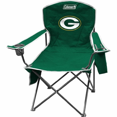 Green Bay Packers Cooler Quad Tailgate Chair