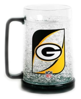 Green Bay Packers Crystal Freezer Mug
