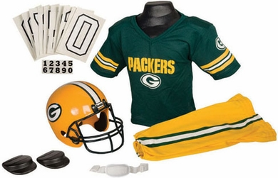 Green Bay Packers Deluxe Youth Uniform Set