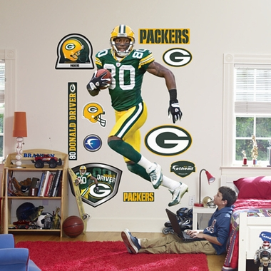Green Bay Packers Donald Driver Fathead Wall Graphic