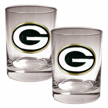 Green Bay Packers Double Rocks Set