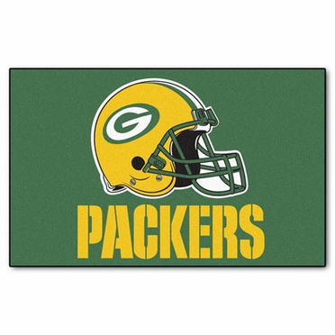 Green Bay Packers Economy 5 Foot x 8 Foot Mat