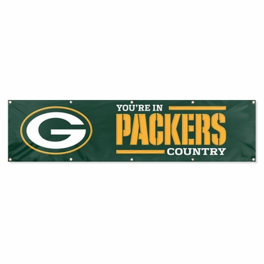 Green Bay Packers Eight Foot Banner