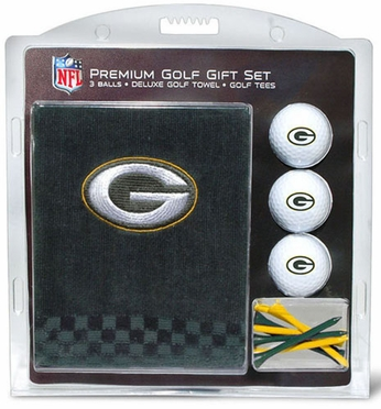 Green Bay Packers Embroidered Towel Gift Set