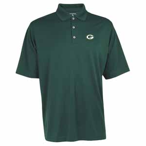 Green Bay Packers Mens Exceed Polo (Team Color: Green) - Small