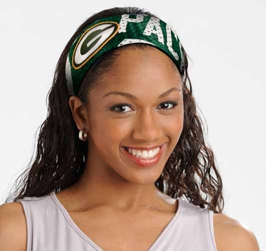 Green Bay Packers FanBand Hair Band