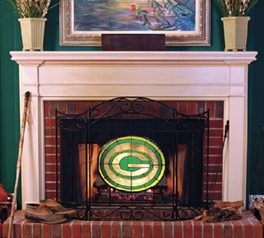 Green Bay Packers Fireplace Screen