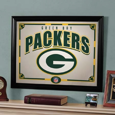 Green Bay Packers Framed Mirror