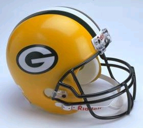 Green Bay Packers Full Sized Replica Helmet